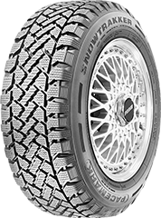 Kelly Snowtrakker® Radial ST/2 tire image and showing tread design